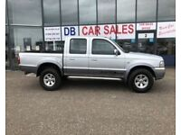 2006 06 FORD RANGER 2.5 THUNDER D/C 1D 107 BHP***GUARANTEED FINANCE***PART EX WELCOME***