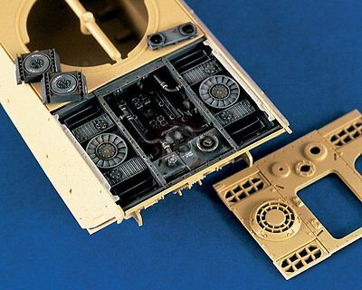 Verlinden 1/35 German Panther Tank Engine and Compartment WWII (for Tamiya) 1203