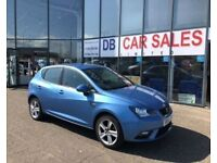 2013 63 SEAT IBIZA 1.4 TOCA 5D 85 BHP***GUARANTEED FINANCE***PART EX WELCOME