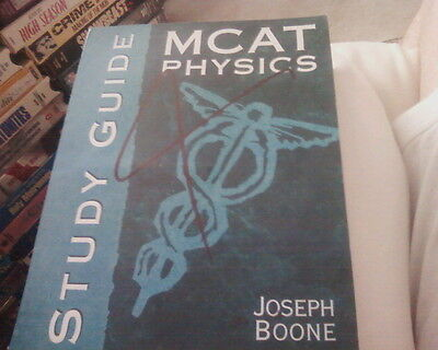MCAT Physics Study Guide PB by Joseph Boone electricity magnetism energy dynamic