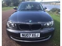 2007 07 BMW 1 SERIES 2.0 118D SE 5D 141 BHP DIESEL