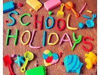 easter, summer, october , half term school holidays at haven seashore caravan hire