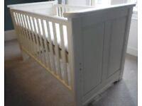 Aspace Belvoir Children's Cot Bed with Matress VGC