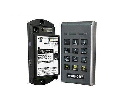 Access Wireless Keypad 315 MHz Record Crowd Opener Garage Door Operative Dip Lash
