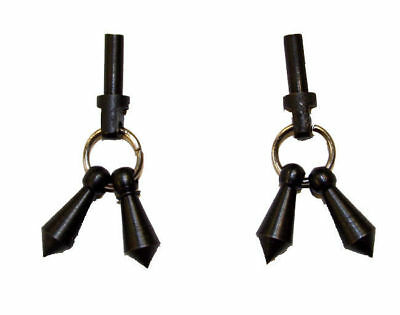 Spurs For Boots (Jingle Bobs for Mens Horse Riding Western Show Spur Parts Black)