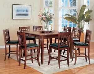 PUB STYLE DINING TABLE SET WITH 8 CHAIRS!