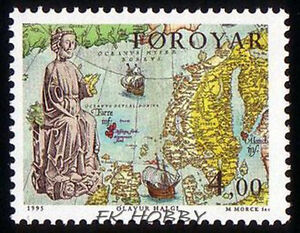 Denmark Faroe 1995 Mi 288 ** Cartography Schiffe Ship Boat Sail - <span itemprop=availableAtOrFrom> Dabrowa, Polska</span> - Denmark Faroe 1995 Mi 288 ** Cartography Schiffe Ship Boat Sail -  Dabrowa, Polska