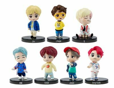 Mattel BTS Goods  Korea Pop Singer Minifigure 7 set(New sealed)