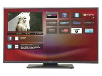 "Hitachi 42"" LED smart tv built USB MEDIA PLAYER HD FREEVIEW full hd 1080p ."