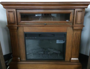 "Incredible Deal: 42"" Corner Fireplace Media Console"