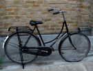 Vintage ladies Omabike CORTINA dutch bike in black with 1 speed, size 20in - Welcome for ride