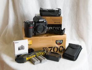 Nikon D700 12.1MP full frame DSLR Shutter Count 58012