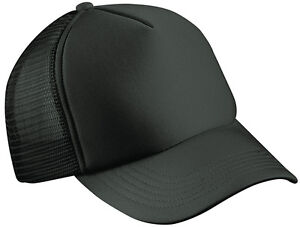 MB TRUCKER CAP  22 GREAT COLOURS - HALF MESH BASEBALL HAT FASHION - WHOLESALE!