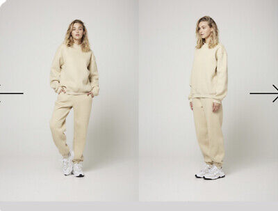 BRAND NEW Atoir X Rozalia Oatmeal Crew Jumper And Track Pant In Size S Rrp $298