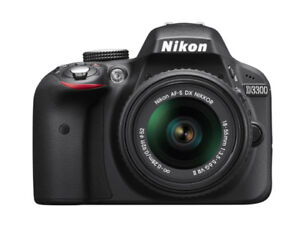 Brand new Nikon D3300 with 18-55 lens