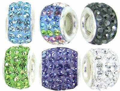 Elegant Austrian Chrystal Beads for your Chamilia, Troll or Pandora Bracelets.