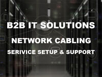 Network cabling | Data & Voice cable installation | Support