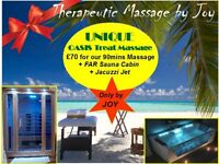 ☙❦ JOY AMAZING SPA THERAPY BEAUTY, Full Body Oil Massage Sauna Jacuzzi❦❧ **Newcastle, Free Parking**
