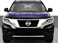 Kids pickup and drop off  for David Suzuki Family of schools