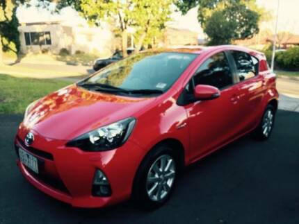2012 Toyota Prius-C itech bluetooth, reverse cameras and sensors. Wantirna South Knox Area Preview