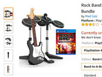 Rock Band 4 (band in a box) on PS4