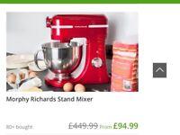 Murphy Richards stand mixer