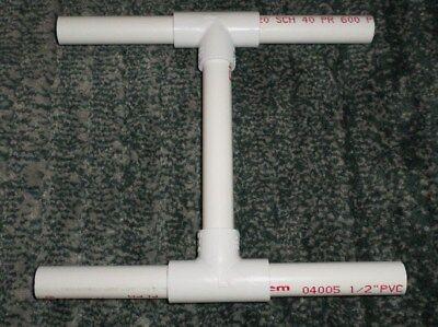 White 1 Yard PVC Niddy Noddy, Great For Soaking Yarn To Set The Twist, NEW