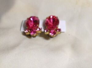 Vintage Clip-on Earrings -  $10.00 each or 3 pairs for $25.00