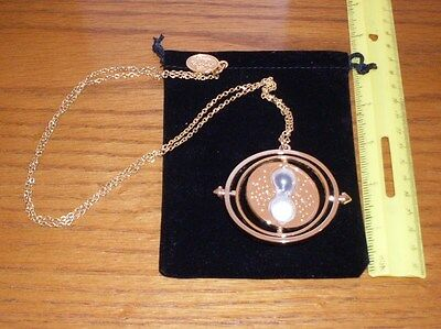 Universal Studios Time Turner Necklace  Pendent 16