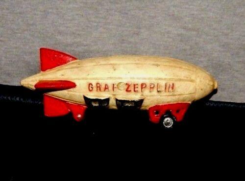 GRAF ZEPPLIN BLIMP AIR SHIP HELIUM HINDENBURG CAST IRON HOT AIR BALLOON TOY