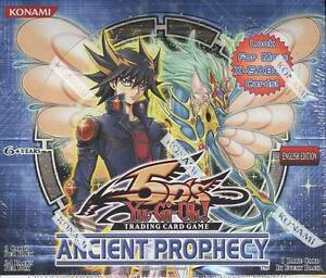 Konami Yu-Gi-Oh! Ancient Prophecy Unlimited Booster Box