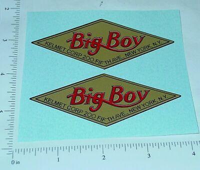Kelmet Big Boy Trucks Replacement Stickers       KM-002 ()