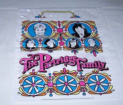 PARTRIDGE FAMILY 1972 SHOPPING BAG- RARE- NEW (Bag only)