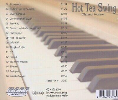 OLEXANDR MOYERER - HOT TEA SWING    CD NEW