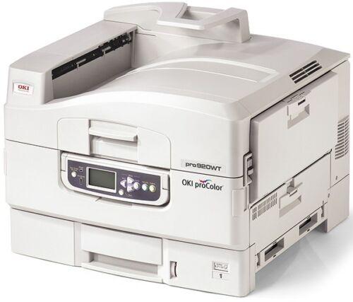 OKI PRO 920WT White Toner Laser Printer Color Transfers
