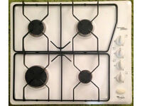 Philips Whirlpool 4-ring gas hob (Generation 2000+, model G2P HG6)