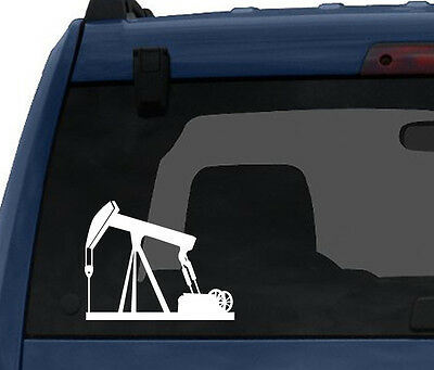 Industrial  9   Oil Natural Gas Well Petroleum Rig   Car Tablet Vinyl Decal