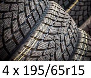 4 WINTER 195/65r15 -------- special 295$ ------------MARCHE AUX PUCES METROPOLITAIN