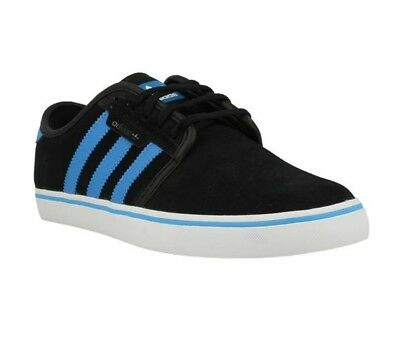 Adidas Seeley Baskets Scarpe Black Blue C75708 Lifestyle Men Shoes UK 8 EU 42
