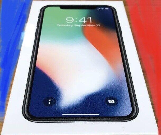 I phone x silver 64gb