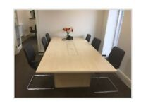 Conference Table and 6 Chairs