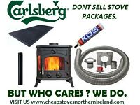STOVE FLUES ** OPEN LATE 6 DAYS ** MULTI FUEL STOVES DEFRA WOOD BURNER BOILER MODERN CASETTE INSET