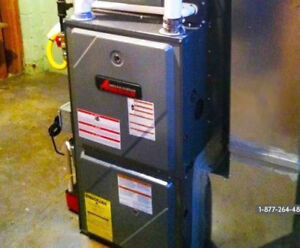 HIGH EFFICIENCY FURNACE & AIR CONDITIONER - HAMILTON'S BEST!!