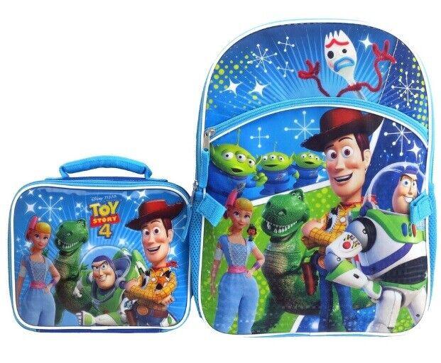 Disney / Pixar Toy Story 4 Backpack & Lunch Bag Set Woody Bu