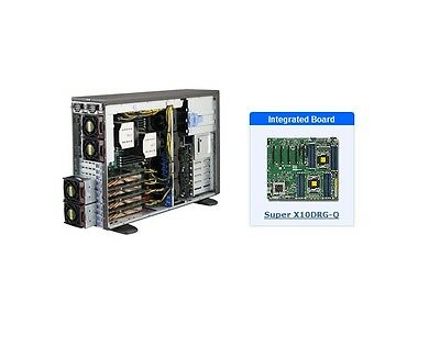 *NEW* SuperMicro SYS-7048GR-TR 4U Server with X10DRG-Q Motherboard