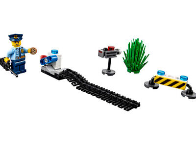 LEGO 6182882 City Police Mission Pack polybag cop cookie road block 40175