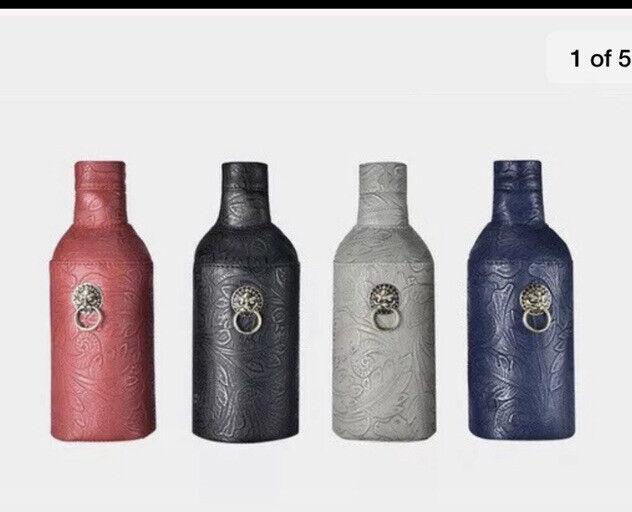 Absolut Vodka China Leather Skin Set Of 4 700ml Size .Last Set