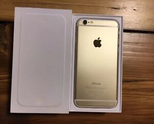 New iPhone 6 ~64GB~ (bell/Virgin) Gold