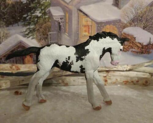 CM Custom Collecta by Breyer Mini Thoroughbred TB Mare 1:64 scale Model Horse