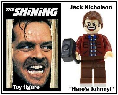 JACK NICHOLSON THE SHINING Mini Toy Figure - NEW - UK based segunda mano  Embacar hacia Spain